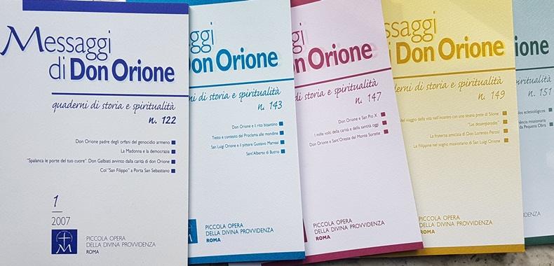 Messaggi don Orione